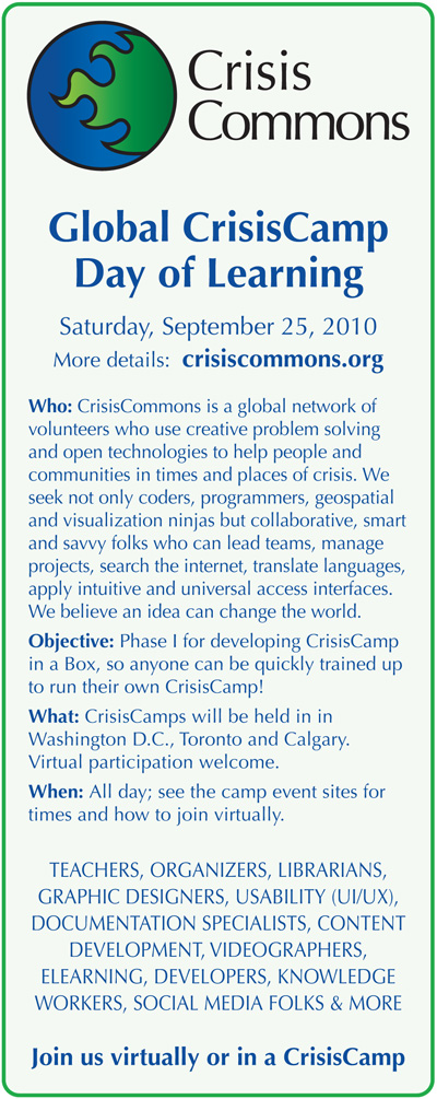 CrisisCamp Day