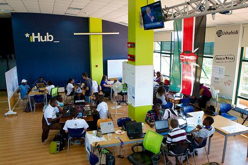 (Photo by Ushahidi)</a><p class=