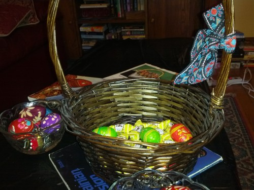 basket of candy
