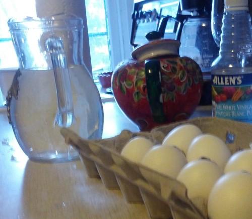 eggs ready