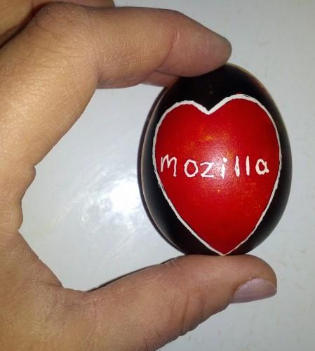 mozilla egg