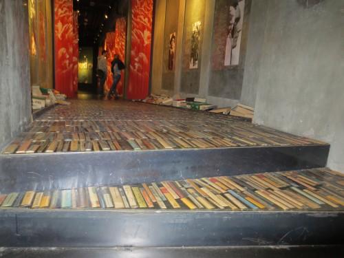 book staircase, berlin