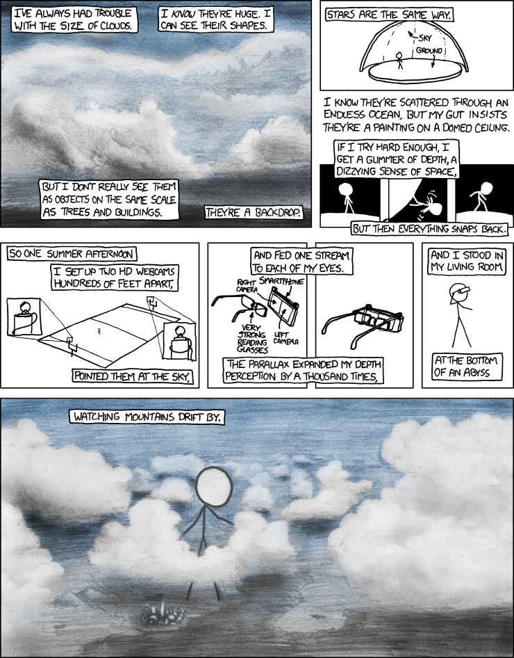 XKCD Depth Perception