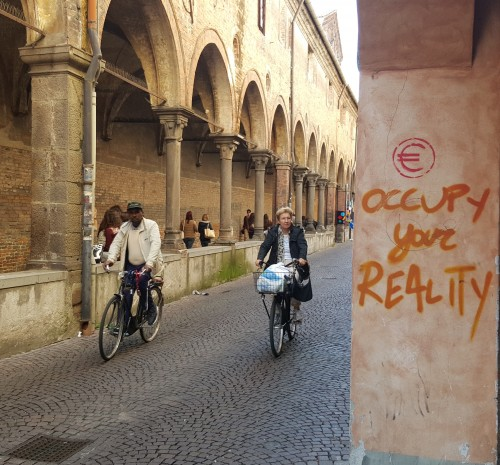 Occupy Your Reality (photo in Padua)