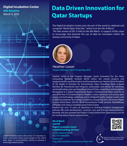 Data Driven Startups in Doha