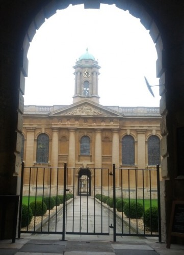Oxford university gate