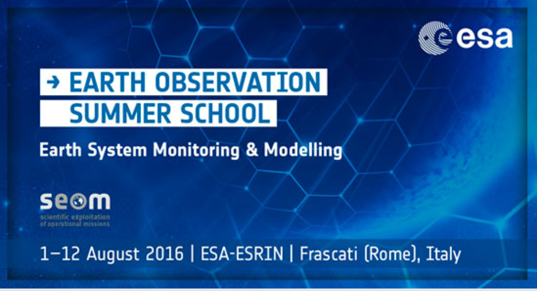 Earth Observation summer school