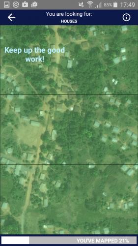 Thanks for Mapswipe