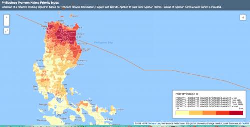 Typhoon Haima Modeling