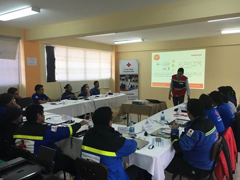 BorisGaona training ODK with Ecuadorian Red Cross (Oct 31, 2016)