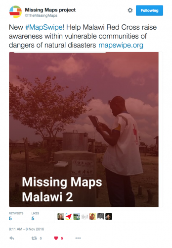 Malawi Red Cross MapSwipe 2